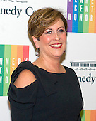 Deborah F. Rutter, President of the John F. Kennedy Center for the Performing Arts, arrives for the formal Artist's Dinner honoring the recipients of the 2014 Kennedy Center Honors hosted by United States Secretary of State John F. Kerry at the U.S. Department of State in Washington, D.C. on Saturday, December 6, 2014. The 2014 honorees are: singer Al Green, actor and filmmaker Tom Hanks, ballerina Patricia McBride, singer-songwriter Sting, and comedienne Lily Tomlin.<br /> Credit: Ron Sachs / Pool via CNP