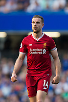 Liverpool's Jordan Henderson <br /> <br /> Photographer Craig Mercer/CameraSport<br /> <br /> The Premier League - Chelsea v Liverpool - Sunday 6th May 2018 - Stamford Bridge - London<br /> <br /> World Copyright &copy; 2018 CameraSport. All rights reserved. 43 Linden Ave. Countesthorpe. Leicester. England. LE8 5PG - Tel: +44 (0) 116 277 4147 - admin@camerasport.com - www.camerasport.com