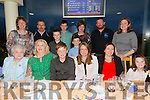 Eirean McElligott O' Brien from Lixnaw who attends Lixnaw boys school celebrating his Confirmation with friends and family at the Kingdom Greyhound Stadium on Friday