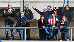 The Stirling Albion guitar man gets the away fans singing at Links Park