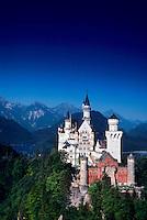 Neuschwanstein Castle, near Fussen, Bavaria, Germany