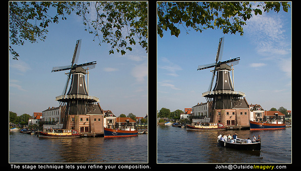 Netherlands, Haarlem.  Stage Technique.<br />