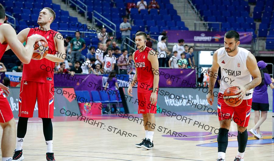 Bogdan Bogdanovic European basketball championship, Evropsko prvenstvo u kosraci Eurobasket Rusija - Srbija, Russia - Serbia 02.9.2017. Istanbul, Turska, 2. Septembar 2017. (credit image & photo: Pedja Milosavljevic / STARSPORT)