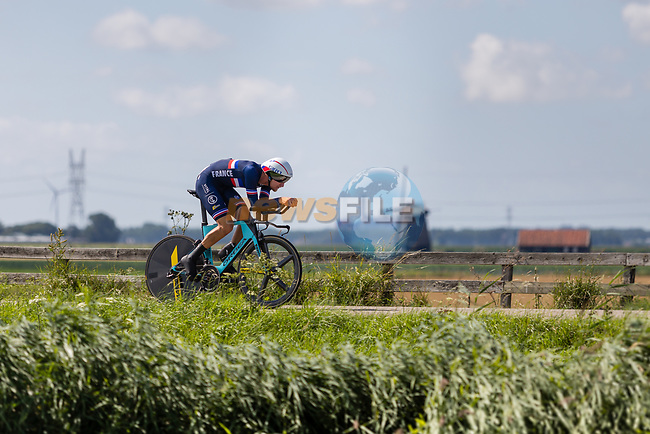 Corentin Ermenault (FRA) in action during the 2019 ITT Elite Men European Championships, 8th August 2019. Photo by Thomas van Bracht / PelotonPhotos.com | All photos usage must carry mandatory copyright credit (Peloton Photos | Thomas van Bracht)