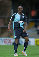 Anthony Stewart of Wycombe Wanderers during the Sky Bet League 2 match between Wycombe Wanderers and Portsmouth at Adams Park, High Wycombe, England on 28 November 2015. Photo by Andy Rowland.