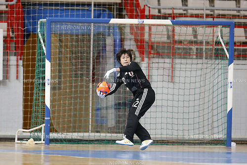 "Sakae Honda (JPN), DECEMBER 6, 2010 - Futsal : ""1st Women's Futsal World Tournament"" match between Japan and Guatemala at the Pabellon Jorge Garbajosa in Torrejon de Ardoz, Spain. (Photo by AFLO) [3604]"