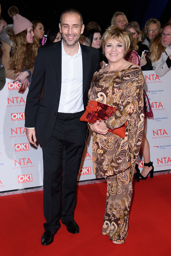 Lesley Dunlop<br /> arriving for the National Television Awards 2018 at the O2 Arena, Greenwich, London<br /> <br /> <br /> ©Ash Knotek  D3371  23/01/2018