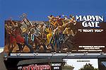 Marvin Gaye billboard on the Sunset Strip circa 197_