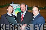 Colm Cooper, Mick Galwey and Darran O'Sullivan launch Kerry Sports Travel in the Malkton Hotel on Tuesday night