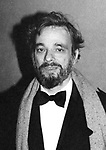 Stephen Sondheim attends the Opening of 'West Side Story' on February 14, 1980  at the Minskoff Theater in New York City.