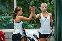 Hilversum, Netherlands, Juli 31, 2019, Tulip Tennis center, National Junior Tennis Championships 12 and 14 years, NJK, Girls Doubles:<br /> Photo: Tennisimages/Henk Koster