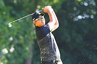 Byeong Hun An tees of from the #2 tee during the BMW PGA Golf Championship at Wentworth Golf Course, Wentworth Drive, Virginia Water, England on 26 May 2017. Photo by Steve McCarthy/PRiME Media Images.