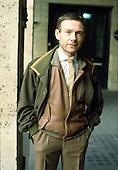 1982: KING CRIMSON - Robert Fripp photosession in Paris France