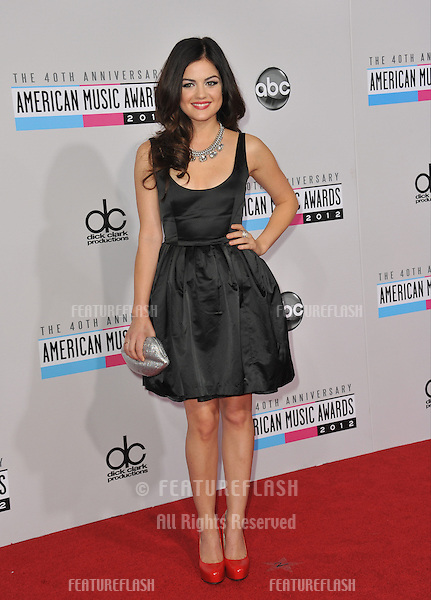 Lucy Hale at the 40th Anniversary American Music Awards at the Nokia Theatre LA Live..November 18, 2012  Los Angeles, CA.Picture: Paul Smith / Featureflash