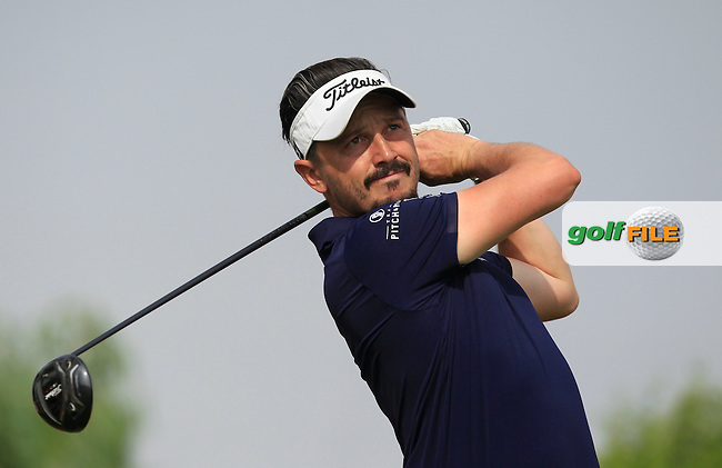 Mike Lorenzo-Vera (FRA) on the 6th tee during Round 4 of the Abu Dhabi HSBC Championship on Sunday 22nd January 2017.<br /> Picture:  Thos Caffrey / Golffile<br /> <br /> All photo usage must carry mandatory copyright credit     (&copy; Golffile | Thos Caffrey)