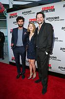 03 Augst 2017 - Hollywood, California - Florin Piersic Jr., Olivia Nita, Corneliu Ulici. Premiere Of Amazon's 'Comrade Detective' held at ArcLight Hollywood. Photo Credit: PMA/AdMedia