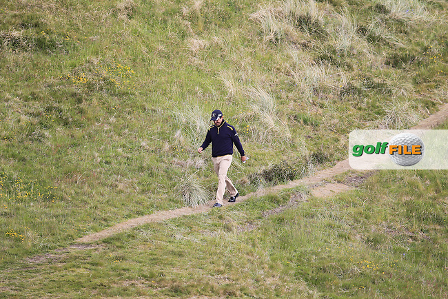 Felipe AGUILAR (CHI) makes his way down the 9th hole during Saturday's Round 3 of the 2015 Dubai Duty Free Irish Open, Royal County Down Golf Club, Newcastle Co Down, Northern Ireland 5/30/2015<br /> Picture Eoin Clarke, www.golffile.ie