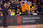 Turkish Airlines Euroleague 2017/2018.<br /> Regular Season - Round 28.<br /> FC Barcelona Lassa vs Baskonia Vitoria Gasteiz: 73-86.<br /> Pedro Martinez.