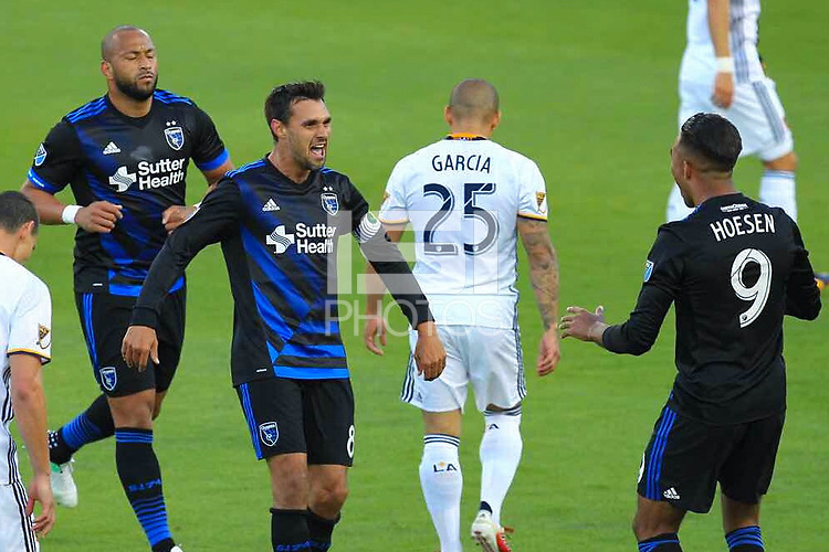 San Jose, CA - Sunday May 28, 2017: Chris Wondolowski during a Major League Soccer (MLS) match between the San Jose Earthquakes and the Los Angeles Galaxy at Avaya Stadium.