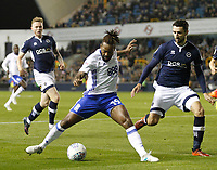 Jacques Maghoma of Birmingham City on the ball during the Sky Bet Championship match between Millwall and Birmingham City at The Den, London, England on 21 October 2017. Photo by Carlton Myrie.