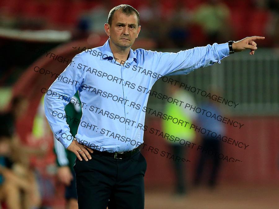 Fudbal UEFA Europa League 2015-2016<br /> Second qualifying round, First leg<br /> Vojvodina v Spartaks Jurmala<br /> Head coach Zlatomir Zagorcic<br /> Novi Sad, 16.07.2015.<br /> foto: Srdjan Stevanovic/Starsportphoto &copy;