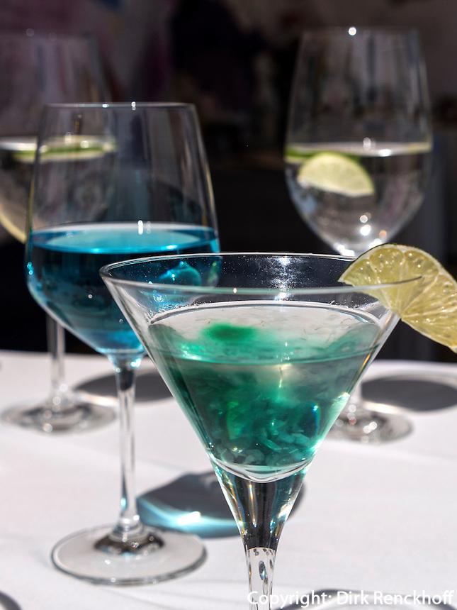 Farbige Cocktails in Seoul, S&uuml;dkorea, Asien<br /> Colorful Cocktails, Seoul, South Korea, Asia