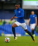 Everton's Ademola Lookman during the pre season friendly match at Goodison Park Stadium, Liverpool. Picture date 6th August 2017. Picture credit should read: Paul Thomas/Sportimage