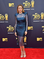 Arielle Vandenberg at the 2018 MTV Movie &amp; TV Awards at the Barker Hanger, Santa Monica, USA 16 June 2018<br /> Picture: Paul Smith/Featureflash/SilverHub 0208 004 5359 sales@silverhubmedia.com
