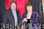 ENTERAINMENT: Noel hartnett and Eileen Fox who entertained the large crowd of senior citzens who were at the Sen Citizens Valentine Dance in the Brendan's Community Centre Ardfert, on Sunday.