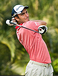 Edoardo Molinari in action during Round 2 of the UBS Hong Kong Golf Open 2011 at Fanling Golf Course in Hong Kong on 2 December 2011. Photo © Andy Jones/ The Power of Sport Images