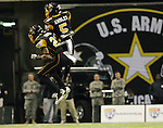 East's Kyle Prater, left, and Markeith Ambles celebrate a play during the first half of the U.S. Army All-American Bowl, Saturday, Jan. 9, 2010, at the Alamodome in San Antonio. (Darren Abate/pressphotointl.com)