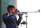 Takayuki Matsumoto (JPN), <br /> AUGUST 21, 2018 - Shooting - Rifle : <br /> Men's 50m Rifle 3 Positions<br /> at Jakabaring Sport Center Shooting Range <br /> during the 2018 Jakarta Palembang Asian Games <br /> in Palembang, Indonesia. <br /> (Photo by Yohei Osada/AFLO SPORT)