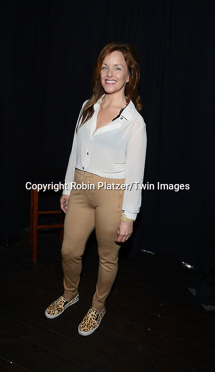 Alice Ripley attends the 28th Annual  Broadway Cares/ Equity Fights Aids Flea Market and Auction on September 21,2014 in Shubert Alley in New York City. <br /> <br /> photo by Robin Platzer/Twin Images<br />  <br /> phone number 212-935-0770