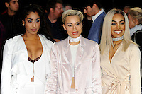 LONDON, ENGLAND - SEPTEMBER 26: Alexandra Buggs, Karis Anderson and Courtney Rumbold of 'Stooshe' attending the 'Deepwater Horizon' European Premiere at Cineworld, Leicester Square on September 26, 2016 in London, England.<br /> CAP/MAR<br /> &copy;MAR/Capital Pictures /MediaPunch ***NORTH AND SOUTH AMERICAS ONLY***