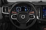 Car pictures of steering wheel view of a 2018 Volvo V90 Inscription 5 Door Wagon Steering Wheel