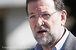 Mariano Rajoy durante una visita a Galicia