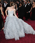Amy Adams arriving at the 85th Academy Awards, held at the Dolby Theater in Los Angeles, CA. February 24, 2013