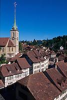 Schweiz, Ortsteil Nydegg in Bern, Unesco-Weltkulturerbe