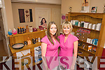 Amy Dunlea and Marion O'Sullivan (proprietor) at Marion's Beauty Salon..