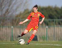 U19 Belgian Red Flames - Austria :<br /> <br /> Elien Van Wynendaele<br /> <br /> foto Dirk Vuylsteke / Nikonpro.be