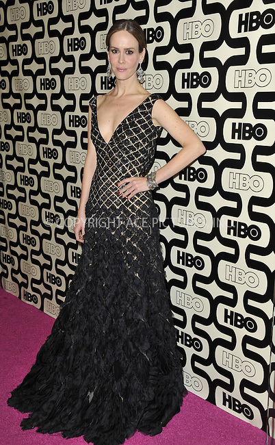 WWW.ACEPIXS.COM....January 13 2013, LA....Sarah Paulson at HBO's Post 2013 Golden Globe Awards Party at Circa 55 Restaurant at the Beverly Hilton Hotel on January 13, 2013 in Beverly Hills, California.....By Line: Peter West/ACE Pictures......ACE Pictures, Inc...tel: 646 769 0430..Email: info@acepixs.com..www.acepixs.com
