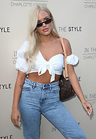 Lottie Tomlinson at the Charlotte Crosby In The Style Launch Party at Nikkiís Bar, Hoxton Square, London on July 4th 2019<br /> CAP/ROS<br /> ©ROS/Capital Pictures