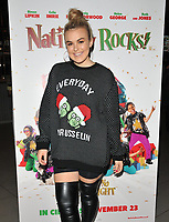 Tallia Storm at the &quot;Nativity Rocks!&quot; gala film screening, Vue West End, Leicester Square, London, England, UK, on Sunday 04 November 2018.<br /> CAP/CAN<br /> &copy;CAN/Capital Pictures