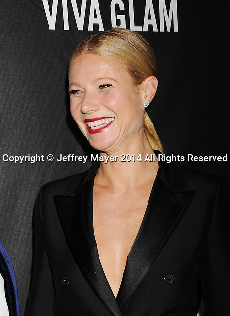 HOLLYWOOD, CA- OCTOBER 29: Actress Gwyneth Paltrow attends amfAR LA Inspiration Gala honoring Tom Ford at Milk Studios on October 29, 2014 in Hollywood, California.