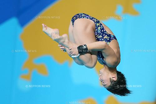 Minami Itahashi (JPN), JULY 29, 2015 - Diving : 16th FINA World Championships Kazan 2015 Women's 10m Platform Semi-Final at Aquatics Palace in Kazan, Russia. (Photo by Yohei Osada/AFLO SPORT)