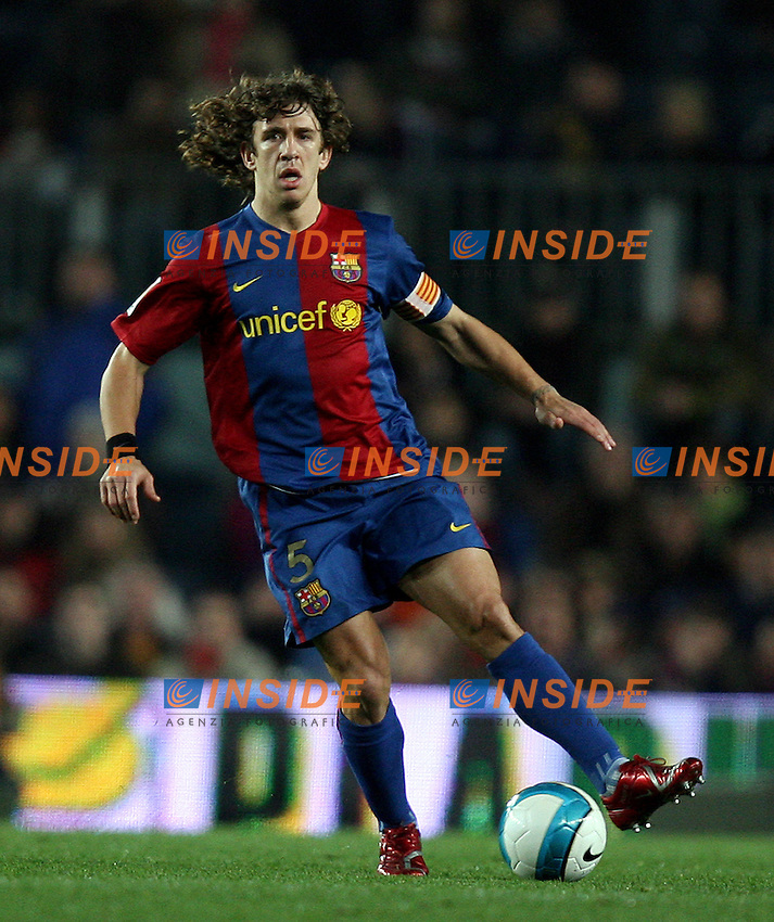 Carlos Puyol (Barcelona)<br /> Spanish &quot;La Liga&quot; 2006-07<br /> 25 Feb 2007 (Match Day 24)<br /> Barcelona - Athletic (3-0)<br /> &quot;Nou Camp&quot;-Stadium-Barcelona-Spain<br /> Photographer: Paco Serinelli INSIDE