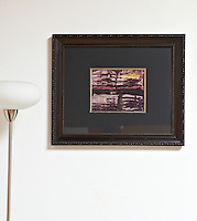 "Ed Moses, India 1995, 24"" x 20.5"",  Framed Digital Print"