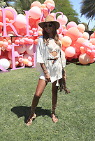 INDIO, CA - April 14: Jasmine Tookes, At Victoria's Secret Launch &quot;Sexy Little Things&quot; At Coachella Valley  In California on April 14, 2017. <br /> CAP/MPI/FS<br /> &copy;FS/MPI/Capital Pictures