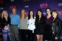 LOS ANGELES - OCT 2: Kathryn Eastwood, Clint Eastwood, Alison Eastwood, Francesca Eastwood, Morgan Eastwood, Graylen Eastwood, Frances Fisher at the premiere of Dark Sky Films' 'M.F.A.' at The London West Hollywood on October 2, 2017 in West Hollywood, California