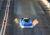 Feb 27, 2016; Chandler, AZ, USA; NHRA funny car driver John Force during qualifying for the Carquest Nationals at Wild Horse Pass Motorsports Park. Mandatory Credit: Mark J. Rebilas-